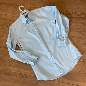"""2/$20 or 3/$30 Men's Blue Dress Shirt - 15"""""""